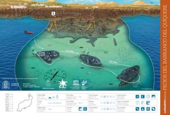 Tinosa Wrecks, Puerto Calero, Lanzarote