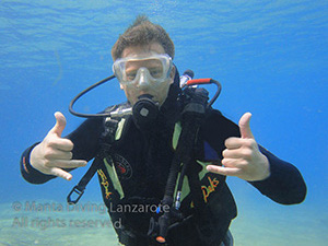 PADI Cours a Lanzarote