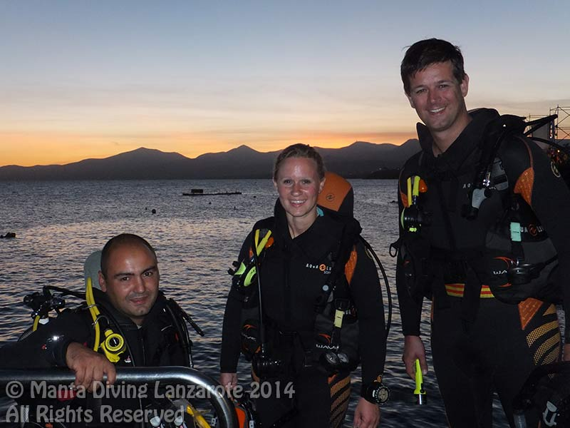 PADI Advanced open water diver course night dive