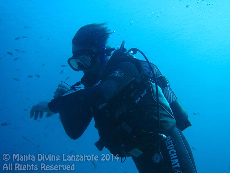 PADI Advanced open water diver course in Lanzarote