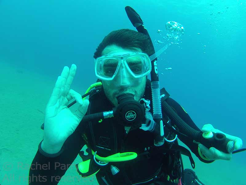 PADI Beginners courses in Lanzarote
