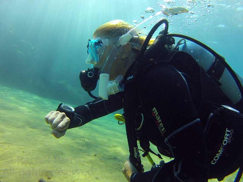 PADI Rescue Diver course in Lanzarote