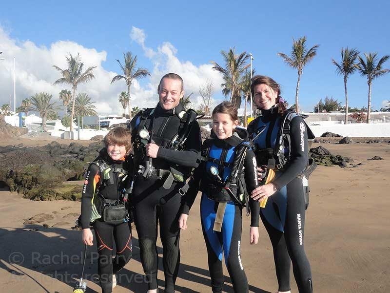 Baptême de plongée PADI Discover Scuba Diving - du plaisir pour toute la famille!
