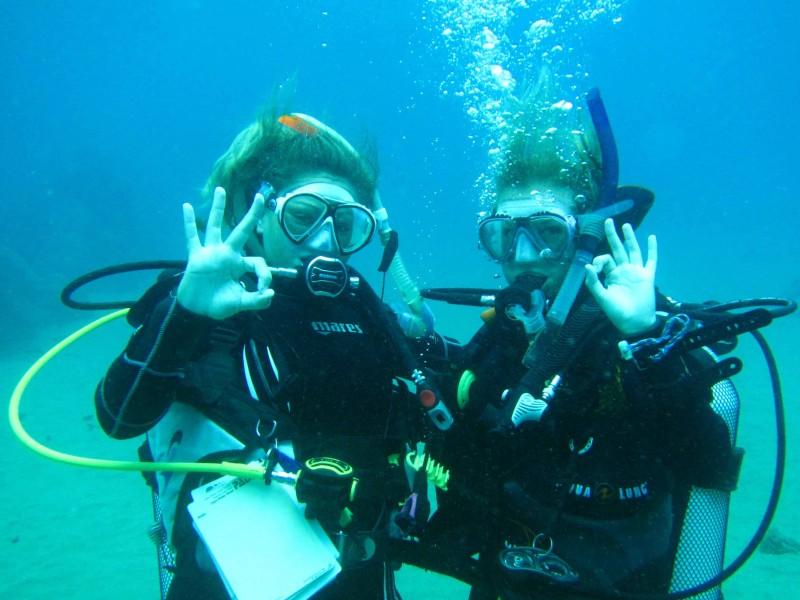 PADI cours Scuba Diver a Lanzarote