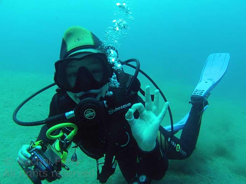 PADI Digital Underwater Photography course in Lanzarote