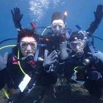 La famille Hartland en plongé pendant ses vacances de Noël pour que Tom passe son niveau Plongeur PADI Advanced open water!