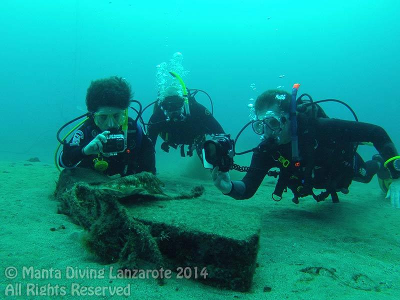 PADI Advanced Open Water Course Lanzarote