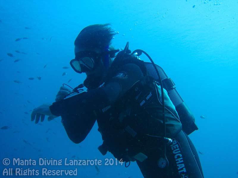PADI Advanced open water diver course in Lanzarote