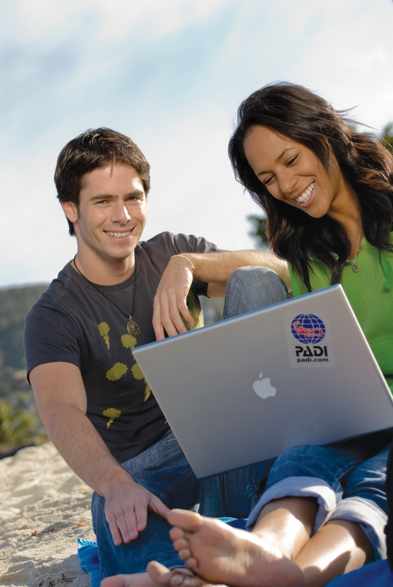PADI Elearning courses from the comfort of your own home!