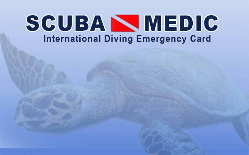 Scuba medic scuba diving insurance