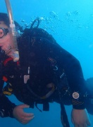 Phil aces his PADI Open Water Course in Lanzarote!